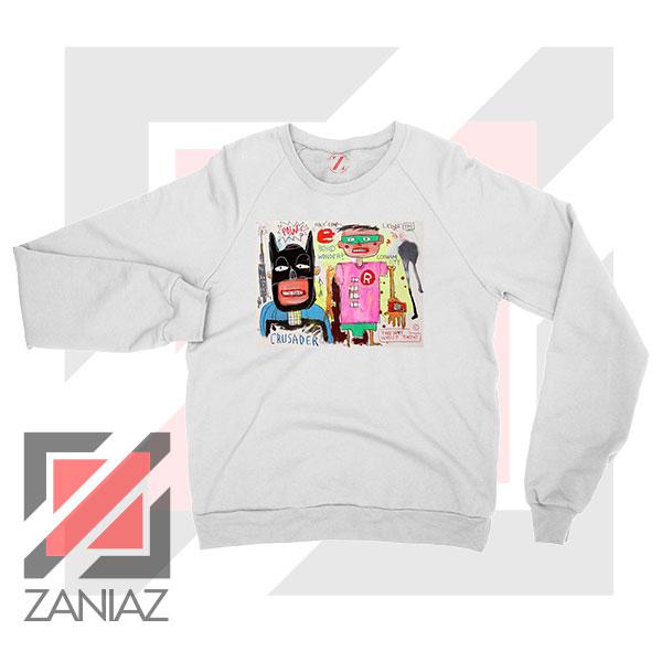 Michel Basquiat Warner Bros Art Sweater