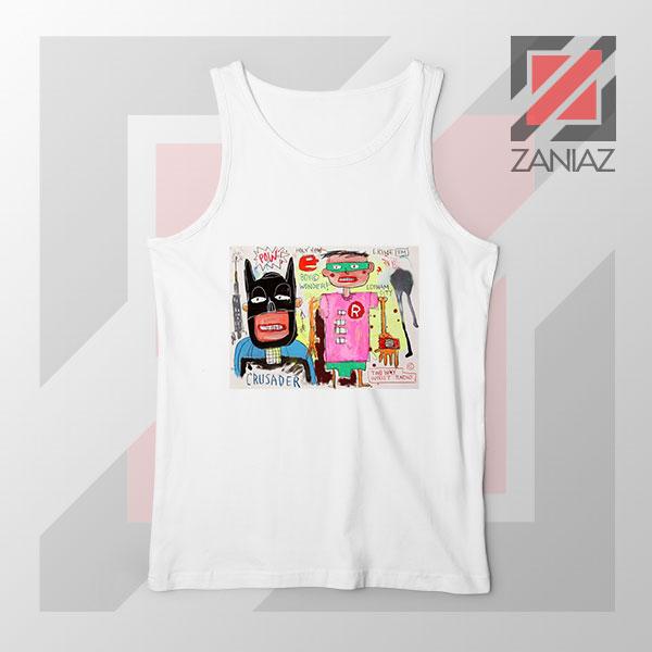 Michel Basquiat Warner Bros Art Tank Top