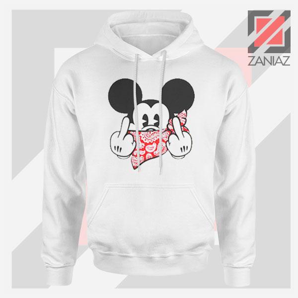 Mickey Disney Middle Finger Hoodie