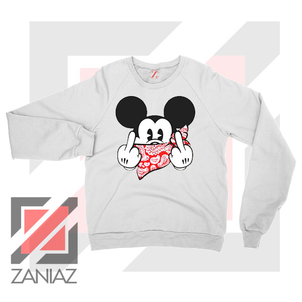 Mickey Disney Middle Finger Sweater