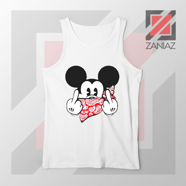 Mickey Disney Middle Finger Tank Top