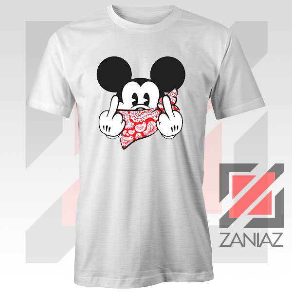 Mickey Disney Middle Finger Tee