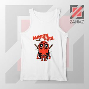 Minion Movies Deadpool Superhero Tank Top
