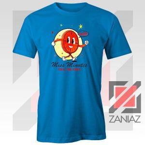 Miss Minutes TVA Mascot Blue Tshirt