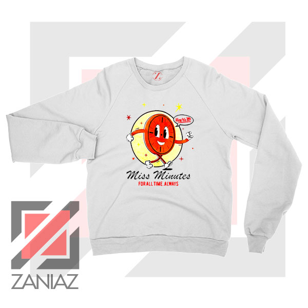 Miss Minutes TVA Mascot Sweatshirt