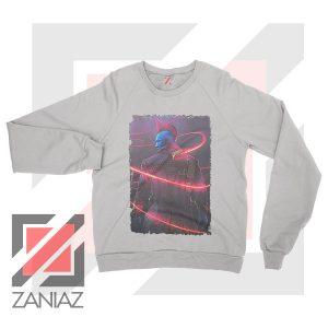 Peter Quill Father GOG Sport Grey Sweatshirt