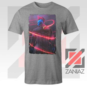 Peter Quill Father GOG Sport Grey Tshirt