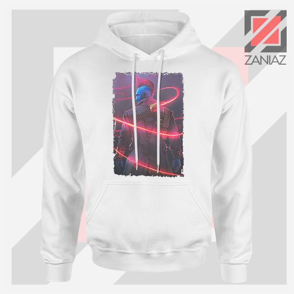 Peter Quill Father GOG White Hoodie