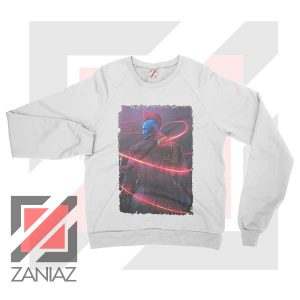 Peter Quill Father GOG White Sweatshirt