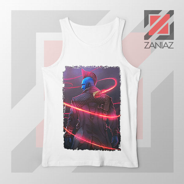 Peter Quill Father GOG White Tank Top