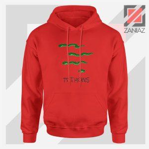Pi Thons Symbol Math Red Hoodie