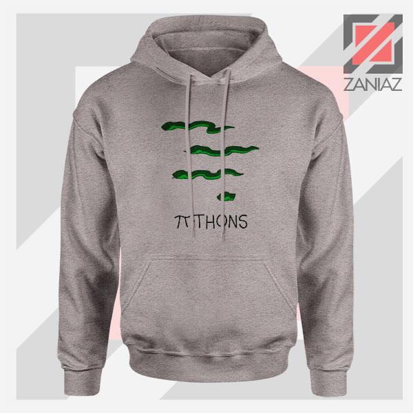 Pi Thons Symbol Math Sport Grey Hoodie