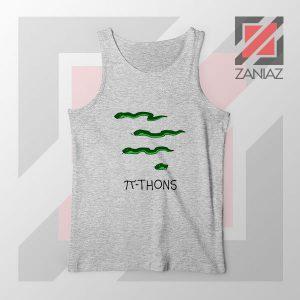 Pi Thons Symbol Math Sport Grey Tank Top