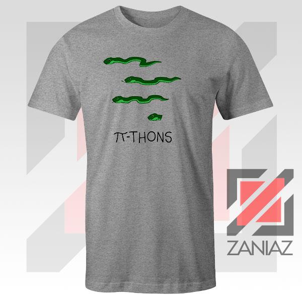 Pi Thons Symbol Math Sport Grey Tee