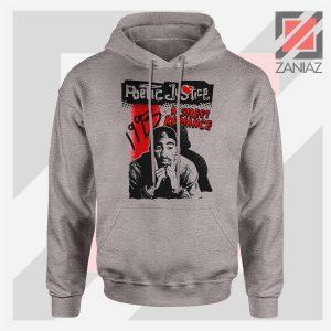 Poetic Justice Tupac Film Sport Grey Hoodie