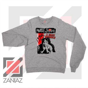 Poetic Justice Tupac Film Sport Grey Sweatshirt