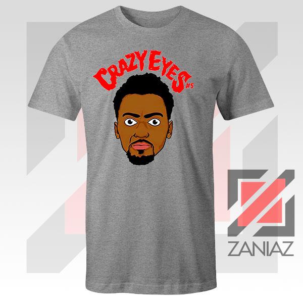 Portis Player Crazy Eyes Sport Grey Tshirt