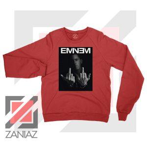 Slim Shady Eminem Poster Red Sweater