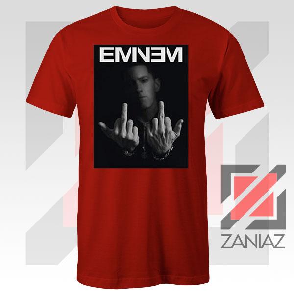 Slim Shady Eminem Poster Red Tshirt