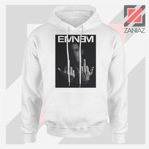 Slim Shady Eminem Poster White Hoodie