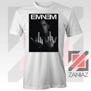 Slim Shady Eminem Poster White Tshirt