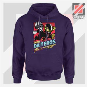 Super Daft Bros Parody Navy Blue Hoodie