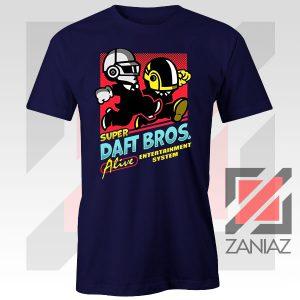 Super Daft Bros Parody Navy Blue Tee