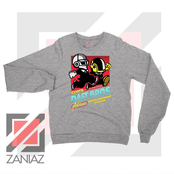 Super Daft Bros Parody Sport Grey Sweatshirt