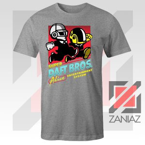 Super Daft Bros Parody Sport Grey Tee