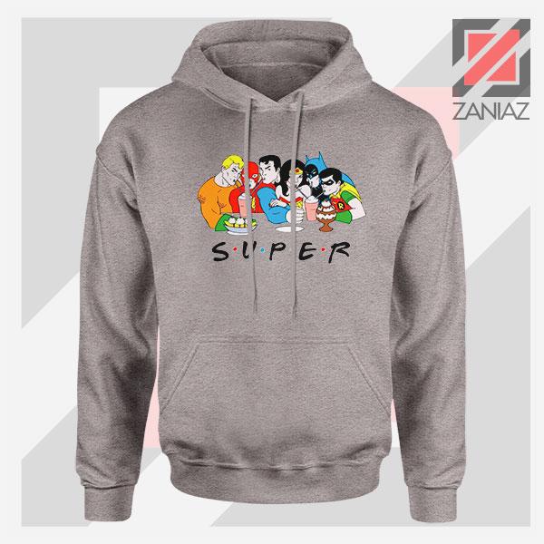 Super Friends DC Comics Apparel Sport Grey Hoodie