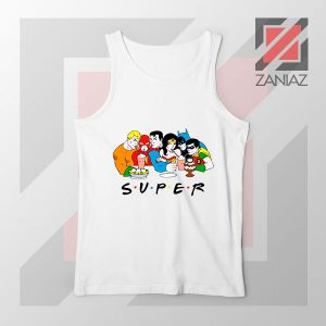 Super Friends DC Comics Design Tank Top