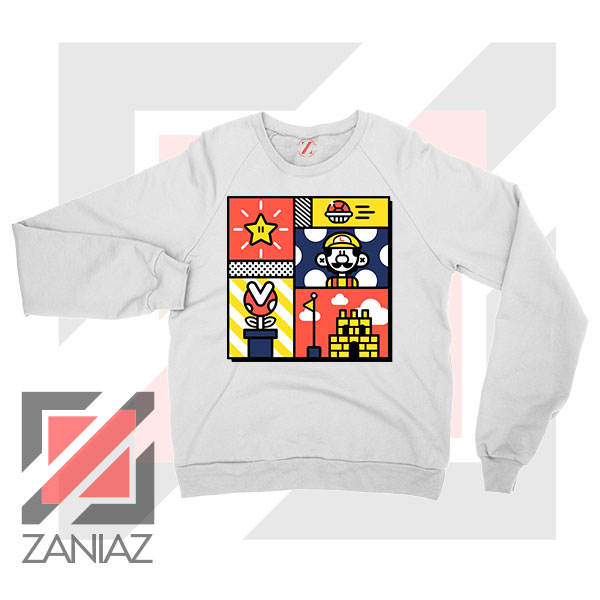 Super Mario Art Celebrate Sweatshirt