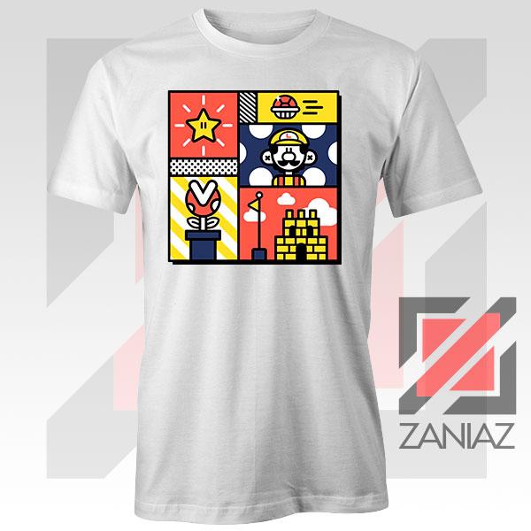 Super Mario Art Celebrate Tshirt