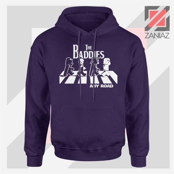 The Baddies Abbey Road Star Wars Navy Blue Hoodie