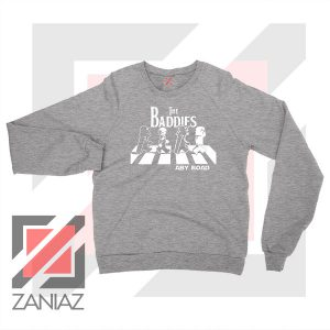 The Baddies Abbey Road Star Wars Sport Grey Sweatshirt