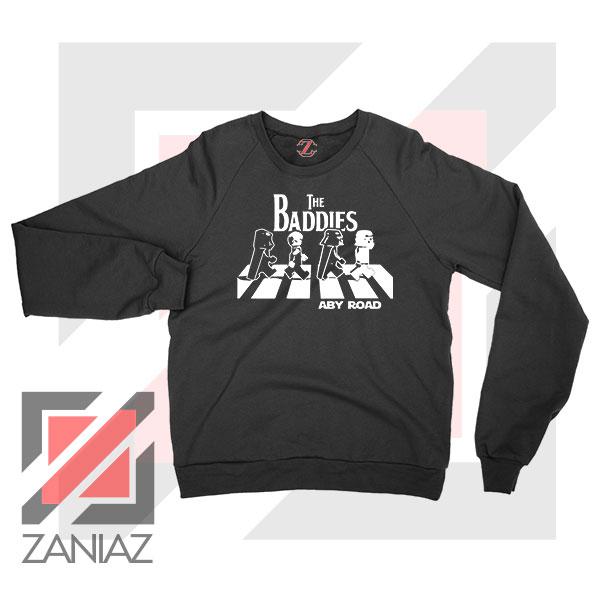 The Baddies Abbey Road Star Wars Sweatshirt