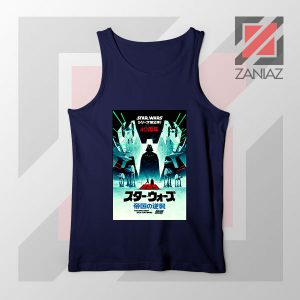 The Empire Strike Back 40th Navy Blue Tank Top