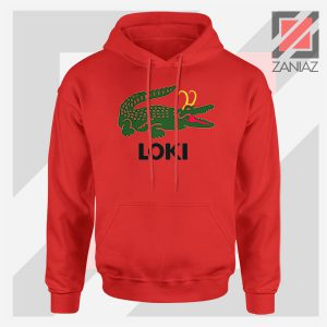 The Glorious Alligator Loki Red Hoodie