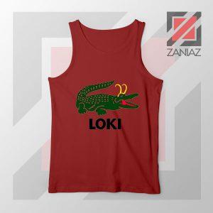 The Glorious Alligator Loki Red Tank Top