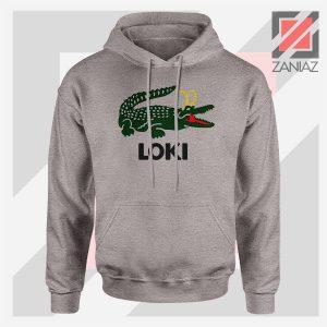 The Glorious Alligator Loki Sport Grey Hoodie