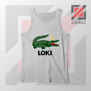 The Glorious Alligator Loki Sport Grey Tank Top