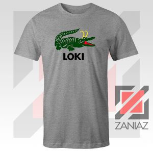 The Glorious Alligator Loki Sport Grey Tshirt