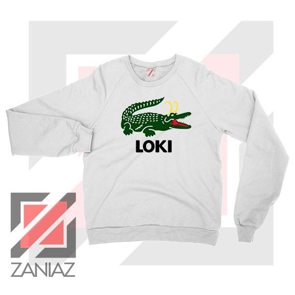 The Glorious Alligator Loki Sweatshirt