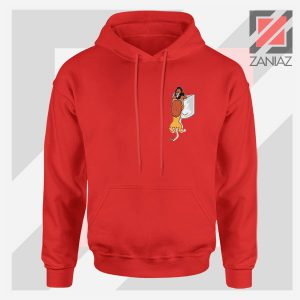 The King Mufasa Falling Cheap Red Hoodie