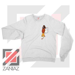 The King Mufasa Falling Graphic Sweatshirt