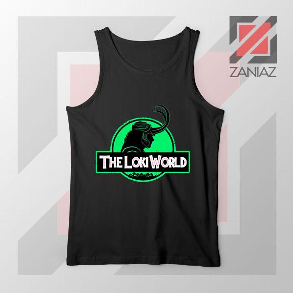 The Loki World Logo Jurassic Best Tank Top