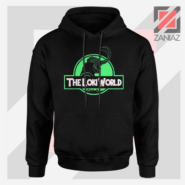 The Loki World Logo Jurassic Graphic Hoodie