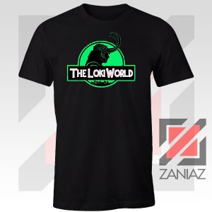 The Loki World Logo Jurassic Graphic Tee