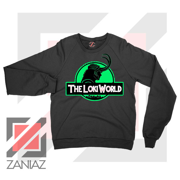 The Loki World Logo Jurassic Sweater