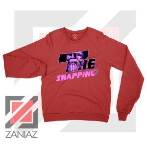 The Snapping Graphic Thanos Redd Sweatshirt